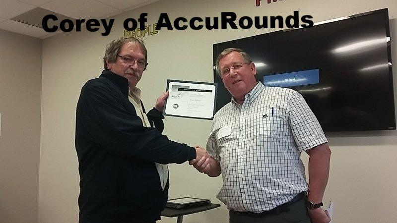 Cory Hartwell of AccuRounds
